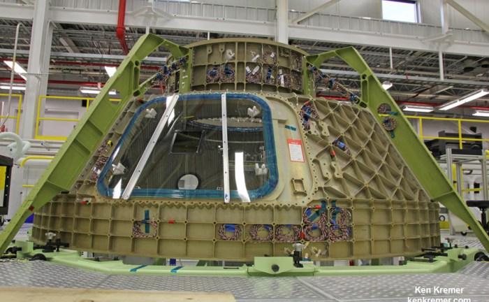 [Boeing] Suivi de la construction du Starliner  (CST-100) et du pas de tir LC-41 170