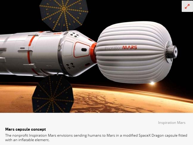 Le congrès demande à la NASA de développer un habitat pour l'espace profond Scree158