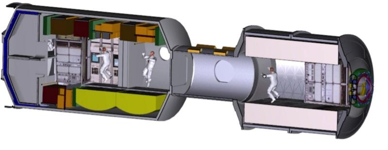 Le congrès demande à la NASA de développer un habitat pour l'espace profond Scree159