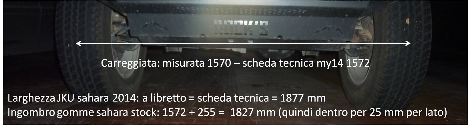 315/70 R17 cerchi e parafanghi Facciamo il punto Carreg11