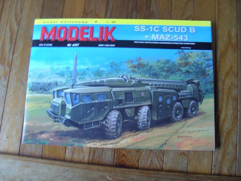Fertig -  SS-1C SCUD B von Modelik gebaut von Holzkopf  Bild1284