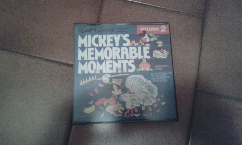 Tekkaman vinile + Mickeys memorables moments Walt Disney 20160133