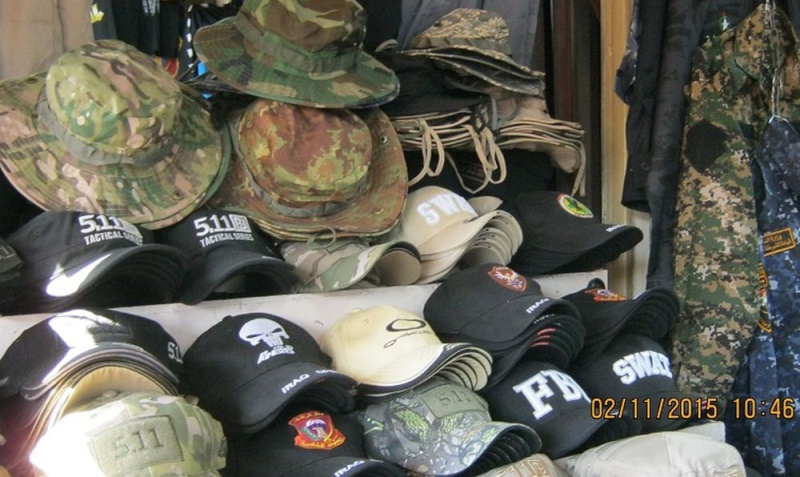 Peace Brigade Black Baseball Cap Blob_210