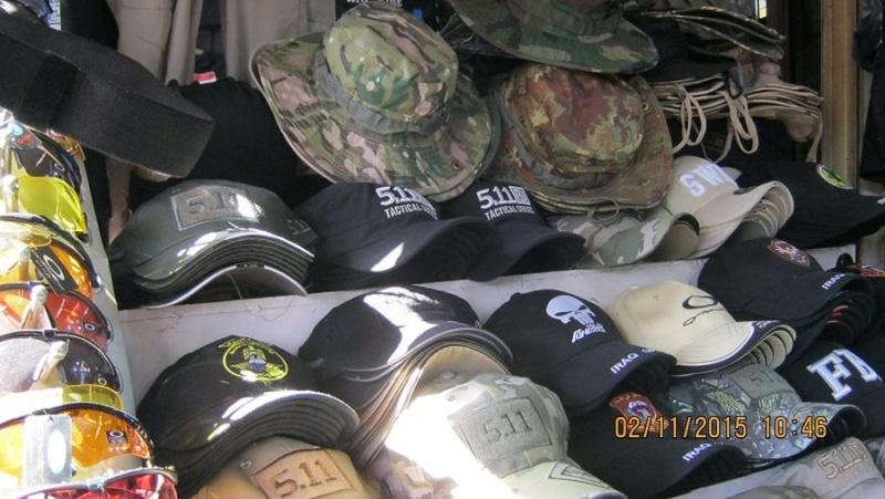 Peace Brigade Black Baseball Cap Blob_211