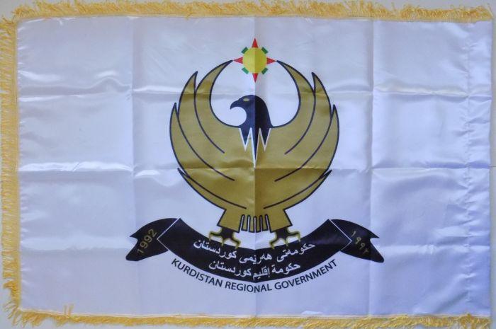 Kurdistan Regional Government Banner Kurdis10