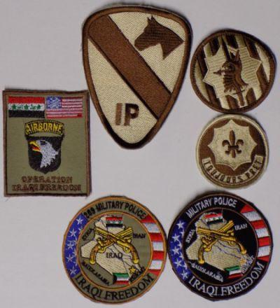 Iraqi Made Patch haul Us_pat10