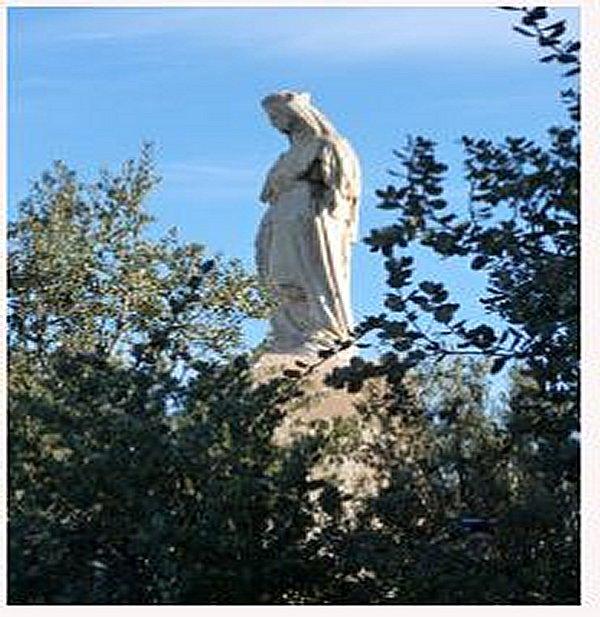 le Monastère Notre Dame de l'Atlas  Tibhirine Midelt Maroc Dame_a10