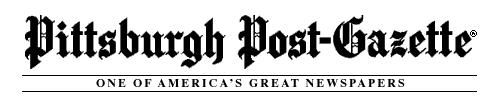 Pittsburgh Post Gazette - Page 2 News-p10