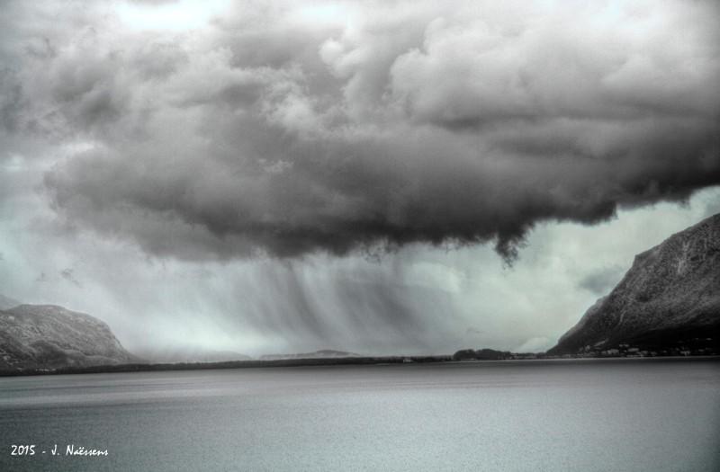 Paysage d'hiver sur le lac 20151112