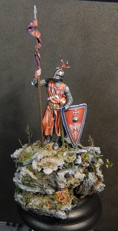 Chevalier italien, 13e siècle; EK Castings, 54 mm Dscn0910