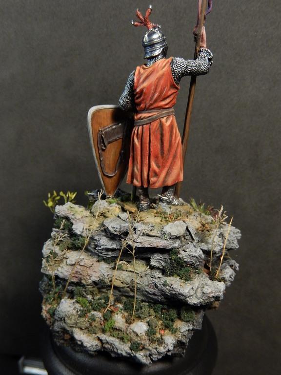 Chevalier italien, 13e siècle; EK Castings, 54 mm Dscn0912