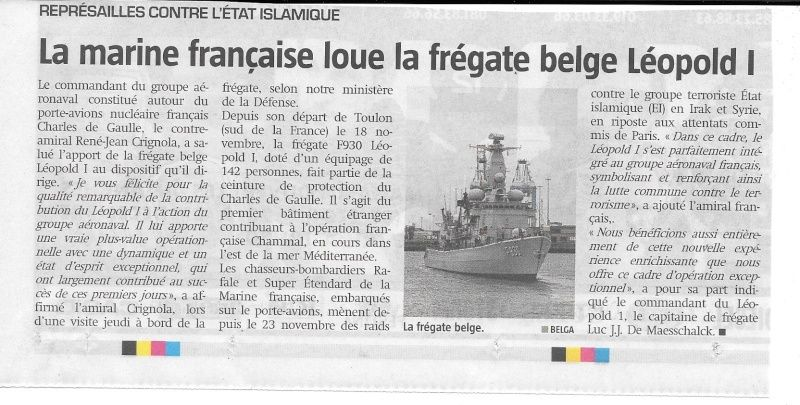 Le F930 Léopold escortera le porte-avions Charles de Gaulle - Page 4 Numyri27