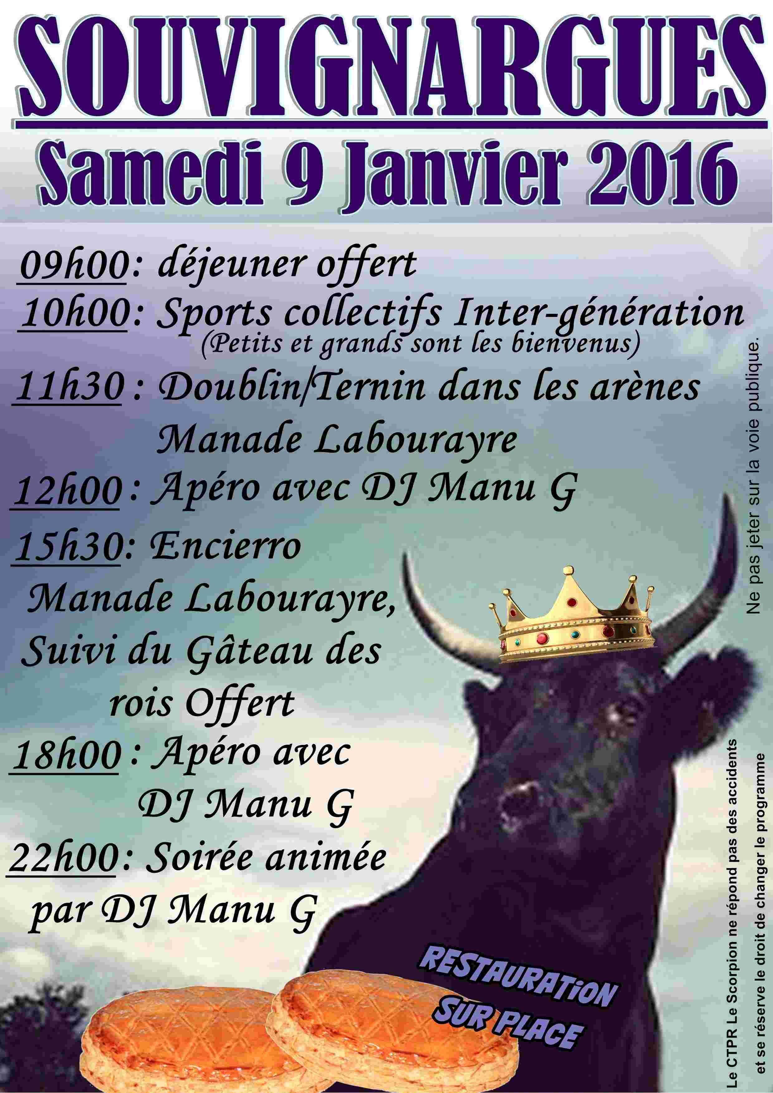Gâteau Des Rois 9 janvier 2016 SOUVIGNARGUES Fly_ga11