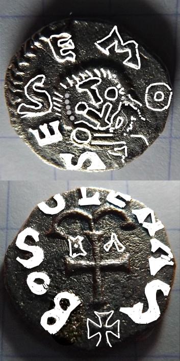 monnaie mérovingienne a identifier Alpha10