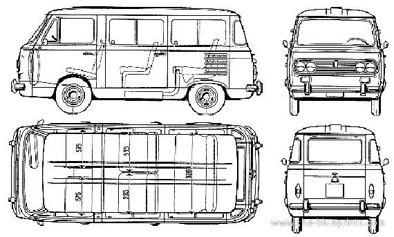 fiat 850 familiare Fiat-810