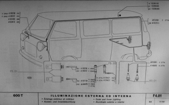 Impianto Elettrico Fiat 600 T  Iphone26