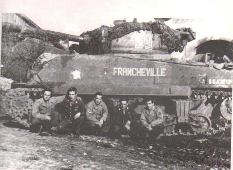 """Recherche sur le Sherman """"FRANCHEVILLE"""" 11011010"""