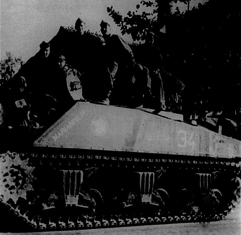 MARIANNE II, Sherman n° 34 du 3/1/1er RMSM Marian10