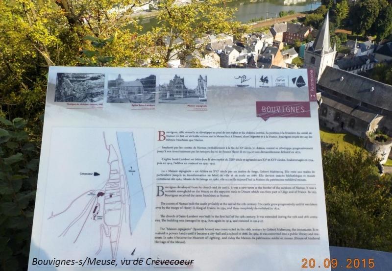CR du 20/9/15: 146 km pour voir la banlieue de Dinant autrement Dscn2225