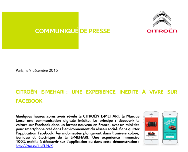 [SUJET OFFICIEL] Citroën E-Mehari - Page 7 Cp_com10