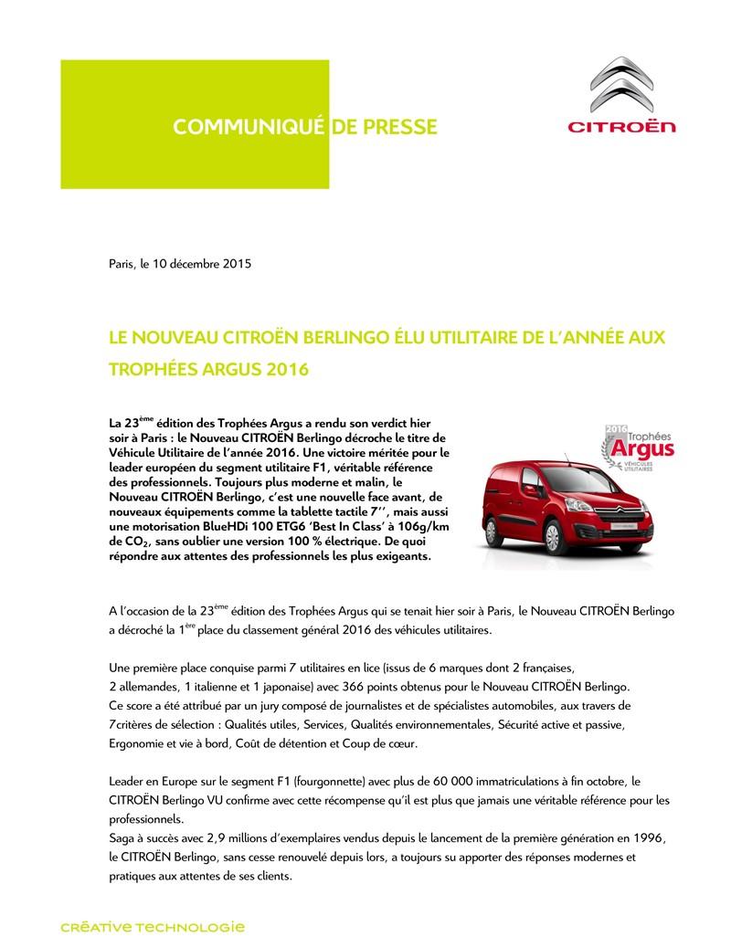 [SUJET OFFICIEL] Citroën Berlingo II phase III  - Page 3 Cp_tro10