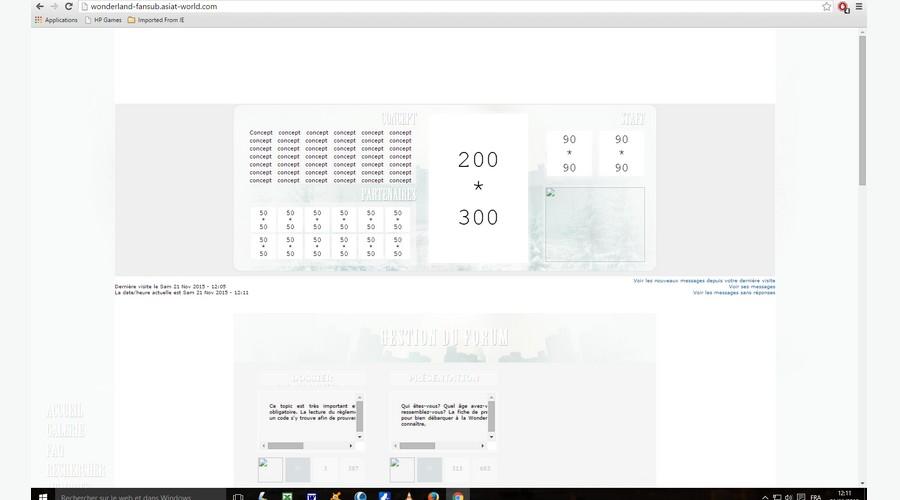 demande de design + codage de forum Sans_t10