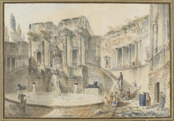 Exposition Hubert Robert au Musée du Louvre 06-50911