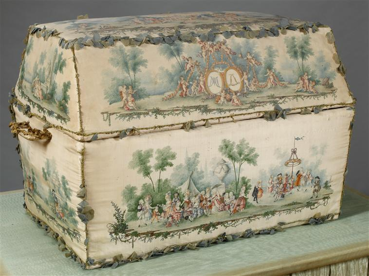 Malles et coffres de voyage de Marie-Antoinette 07-53010
