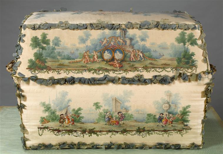Malles et coffres de voyage de Marie-Antoinette 07-53014