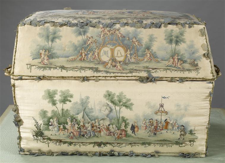 Malles et coffres de voyage de Marie-Antoinette 07-53016
