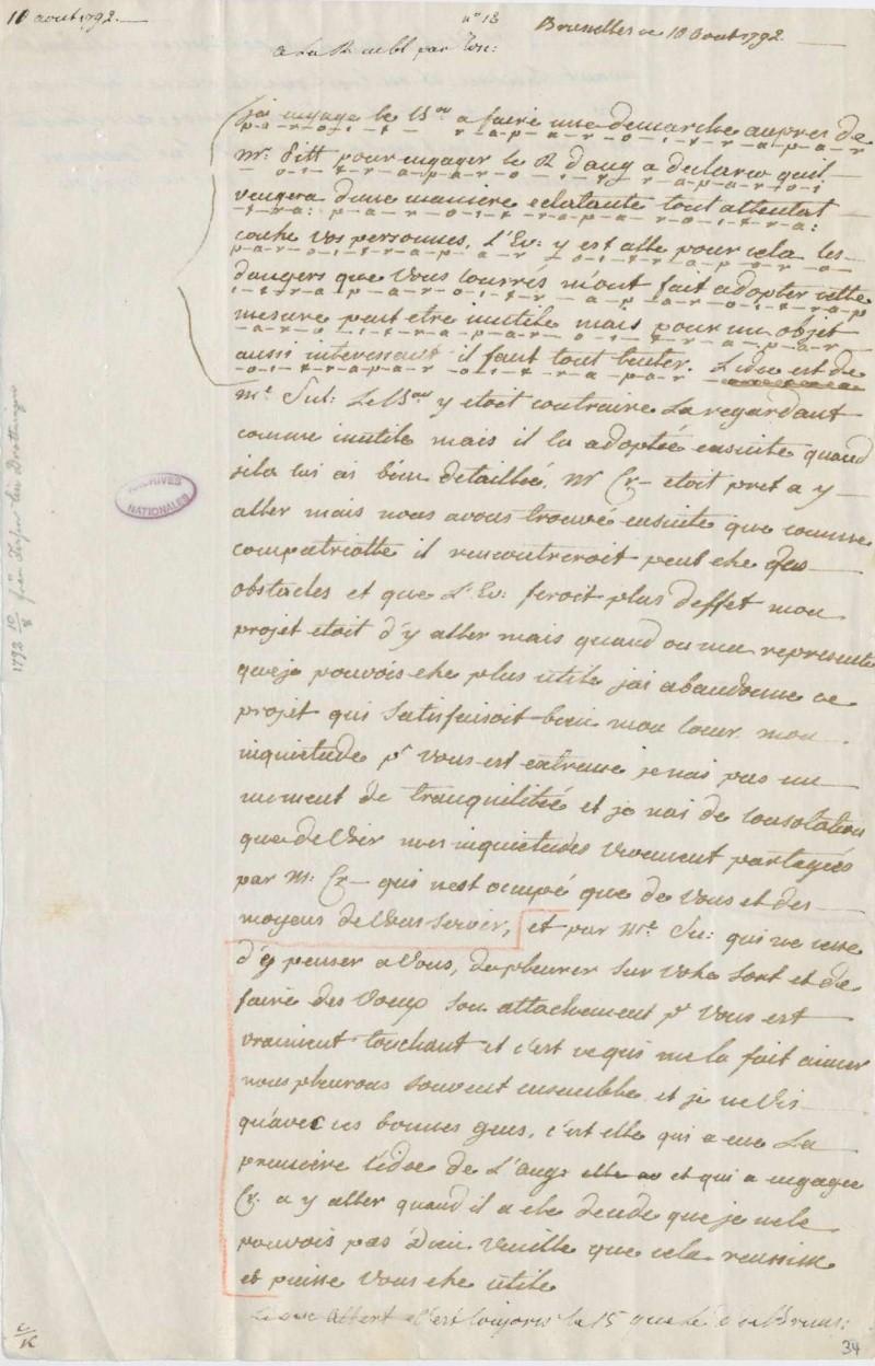 Les lettres de Fersen à Marie-Antoinette - Page 2 10_aou10