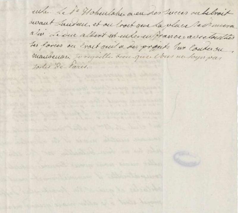 Les lettres de Fersen à Marie-Antoinette - Page 2 10_aou11