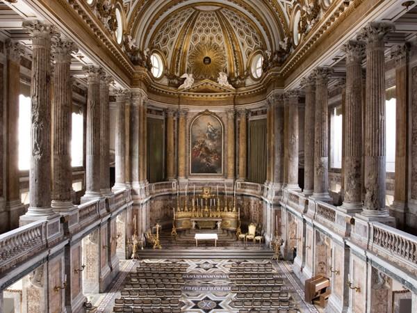 Marie-Caroline à Naples : le Palais Royal de Caserte 11625-10