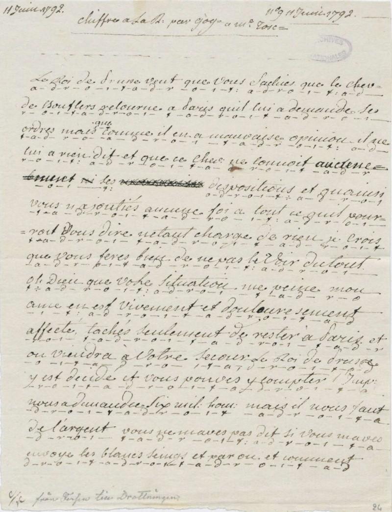 Les lettres de Fersen à Marie-Antoinette - Page 2 11_jui10