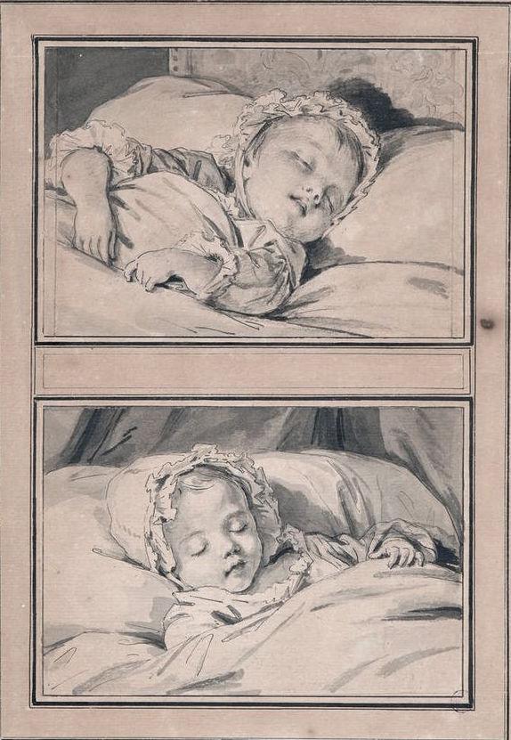 Portraits de la petite Mme Sophie, par Vigée Le Brun, ou pas ? 12965610