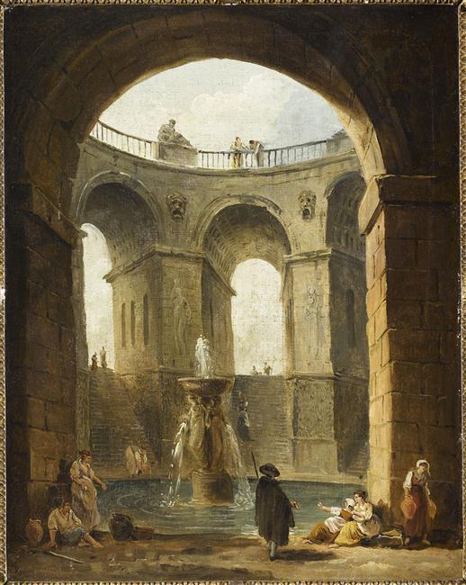 Exposition Hubert Robert au Musée du Louvre 14-53110