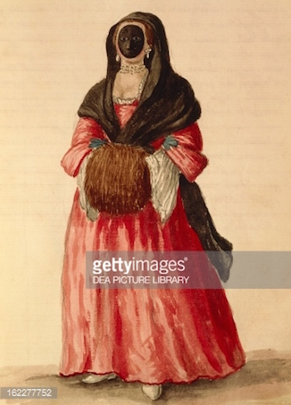 Galerie de portraits : Le manchon au XVIIIe siècle  16227711