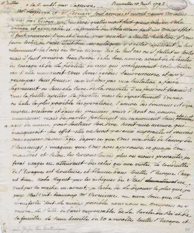 Les lettres de Fersen à Marie-Antoinette - Page 2 1o_jui10