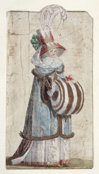 Galerie de portraits : Le manchon au XVIIIe siècle  2006av10