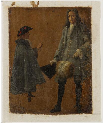 Galerie de portraits : Le manchon au XVIIIe siècle  2007bn11