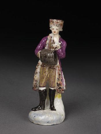 Galerie de portraits : Le manchon au XVIIIe siècle  2010ct10