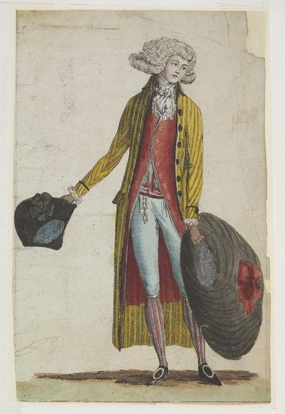 Galerie de portraits : Le manchon au XVIIIe siècle  2010ec10