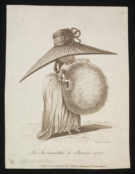 Galerie de portraits : Le manchon au XVIIIe siècle  2010ec11