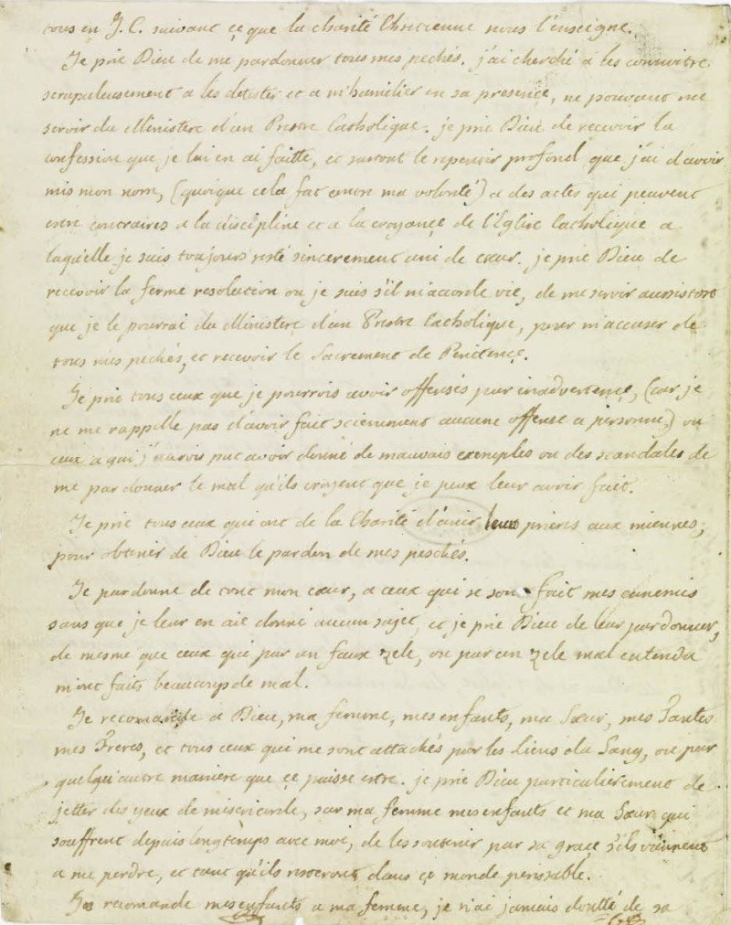 Le Testament de Louis XVI 210