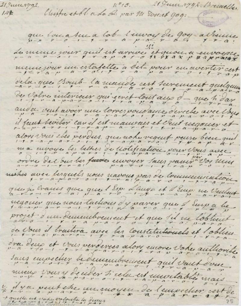 Les lettres de Fersen à Marie-Antoinette - Page 2 21_jui10