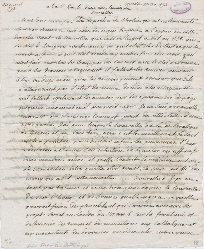 Les lettres de Fersen à Marie-Antoinette - Page 2 24_avr10