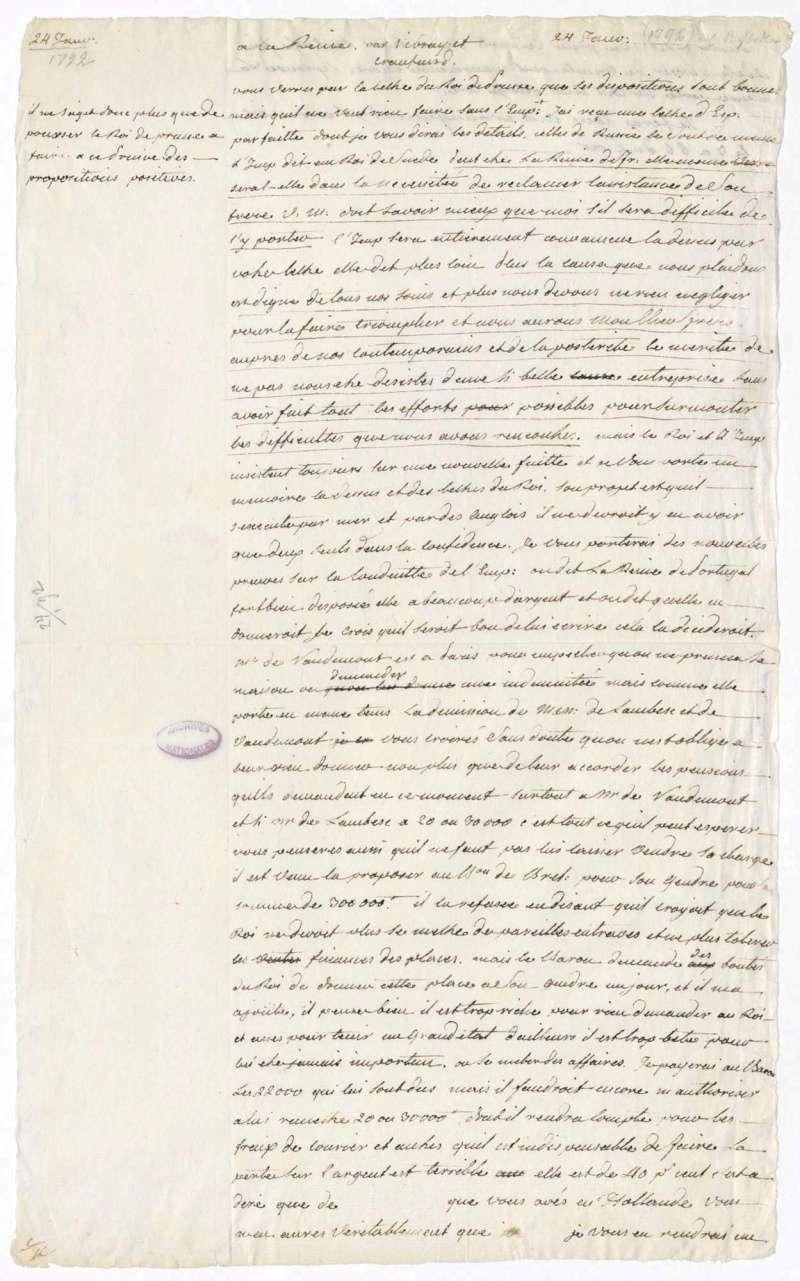 Les lettres de Fersen à Marie-Antoinette 24_jan10