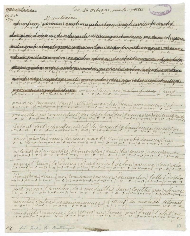 Les lettres de Fersen à Marie-Antoinette 25_oct10