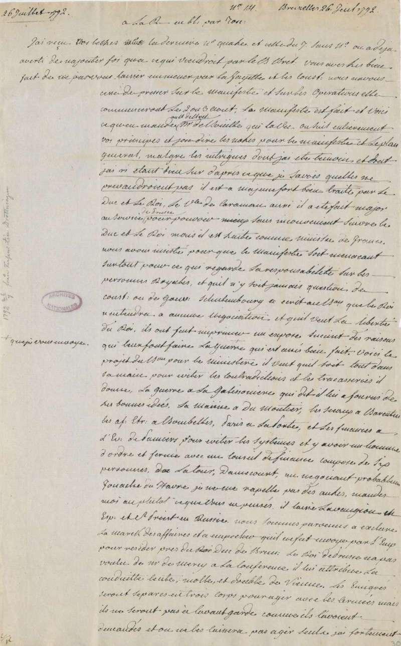 Les lettres de Fersen à Marie-Antoinette - Page 2 26_jui10