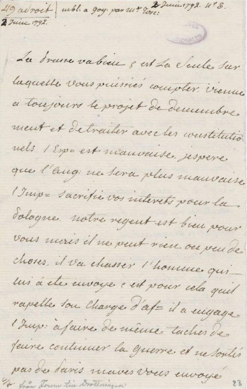 Les lettres de Fersen à Marie-Antoinette - Page 2 2_juin10